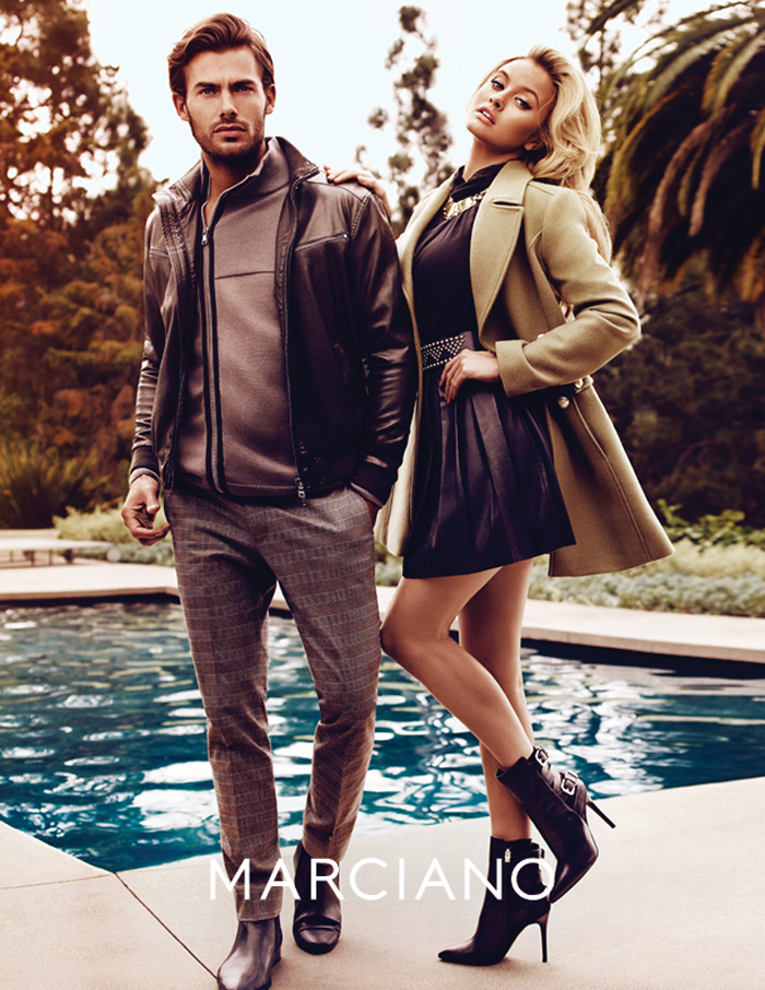 Jacey Elthalion Fronts Marciano Fall/Winter 2015 Campaign