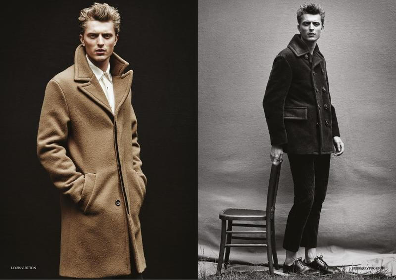 Max Rendell is Dashing in Fall/Winter 2015 Menswear Collections