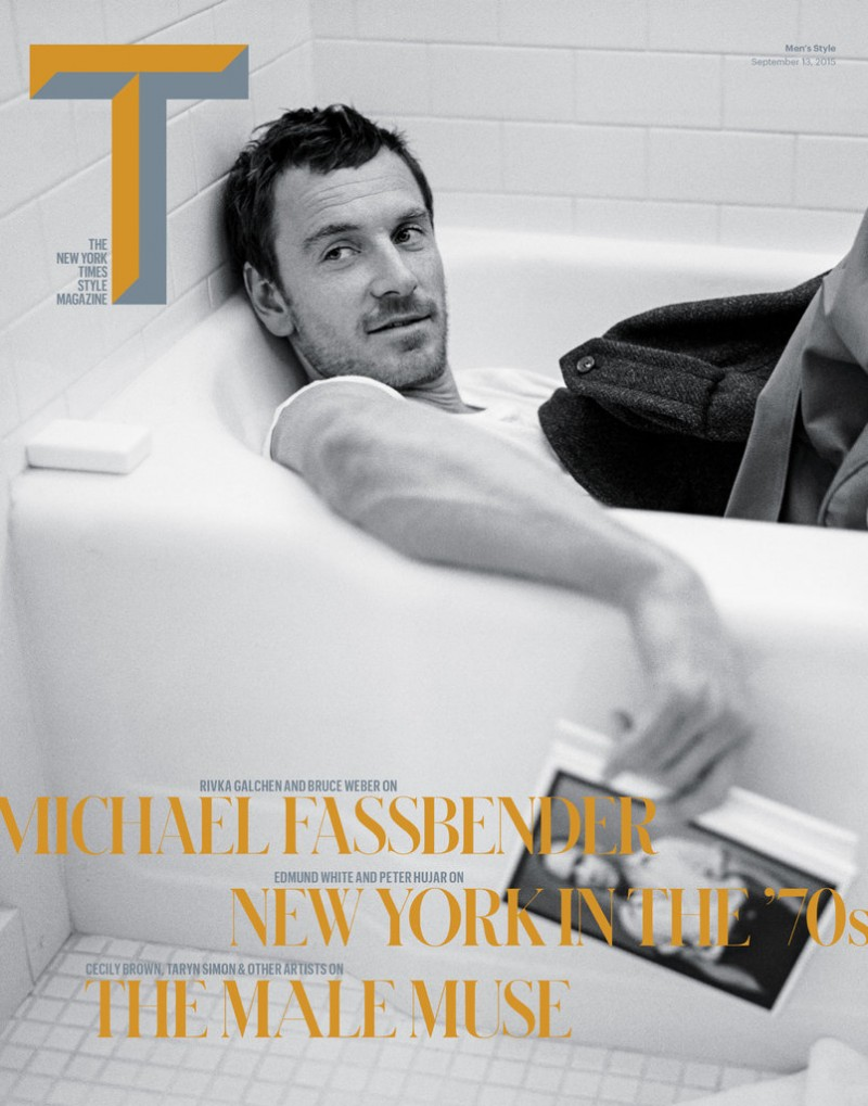 Michael Fassbender Covers T Magazine, Talks Acting Technique