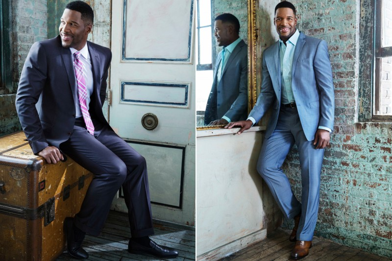 Get Michael Strahan Suits  PNG