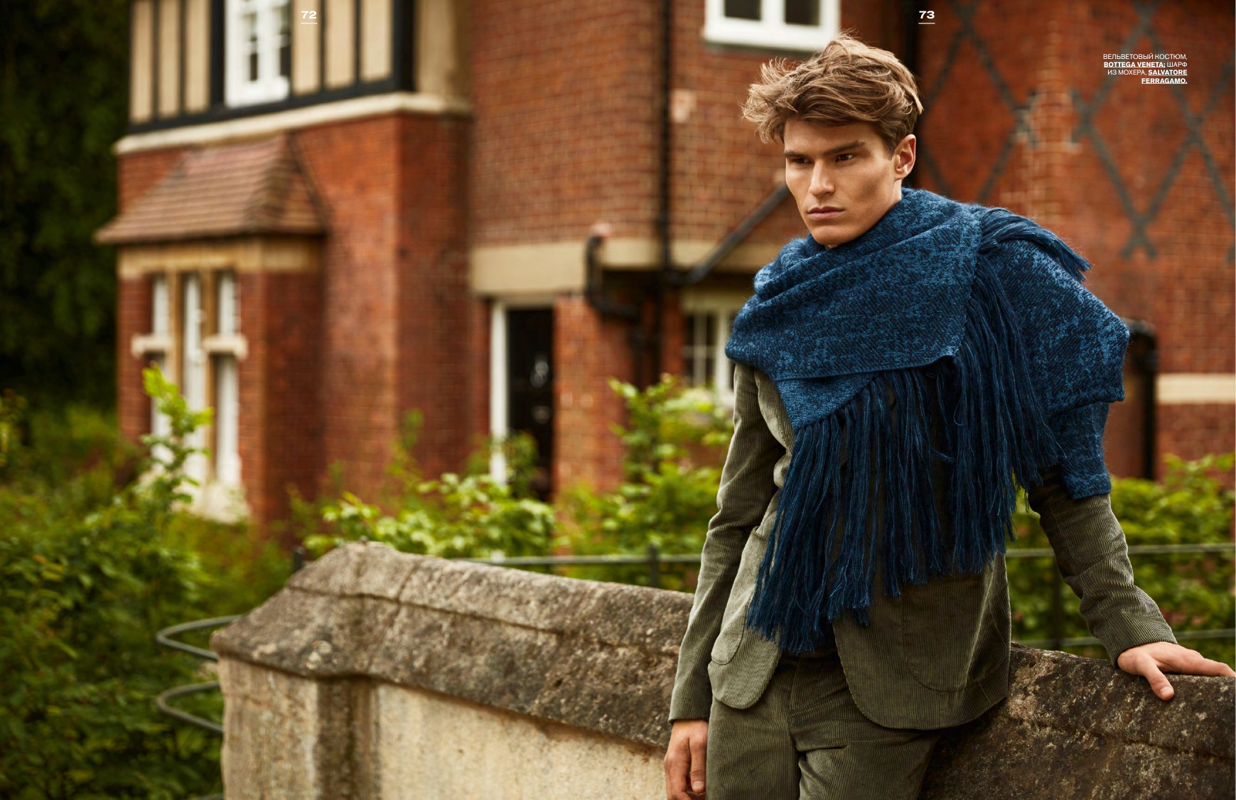Oliver Cheshire Covers Fall/Winter 2015 GQ Style Russia