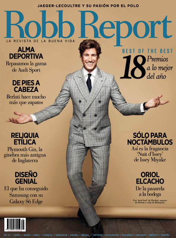 Oriol Elcacho Suits Up for Robb Report España