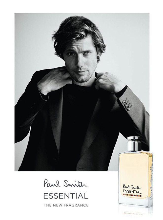 James Rousseau Fronts Paul Smith Essential Fragrance Campaign