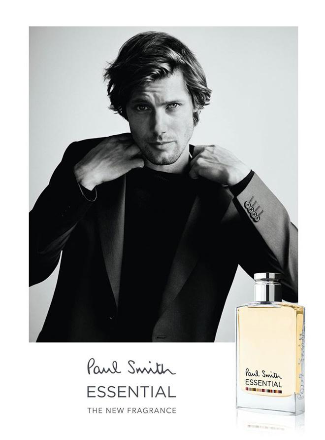 James Rousseau Fronts Paul Smith Essential Fragrance Campaign