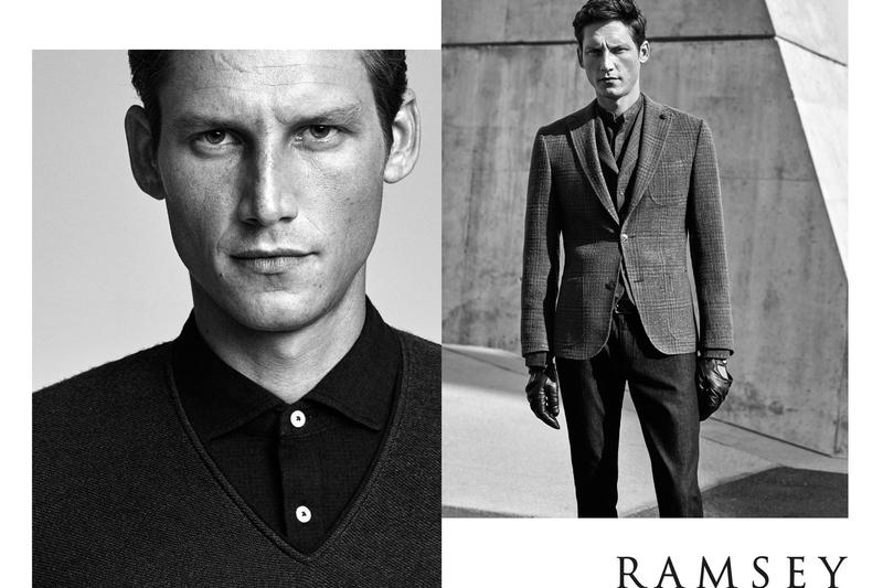 Roch Barbot is Stylish Gent for Ramsey Fall/Winter 2015 Campaign