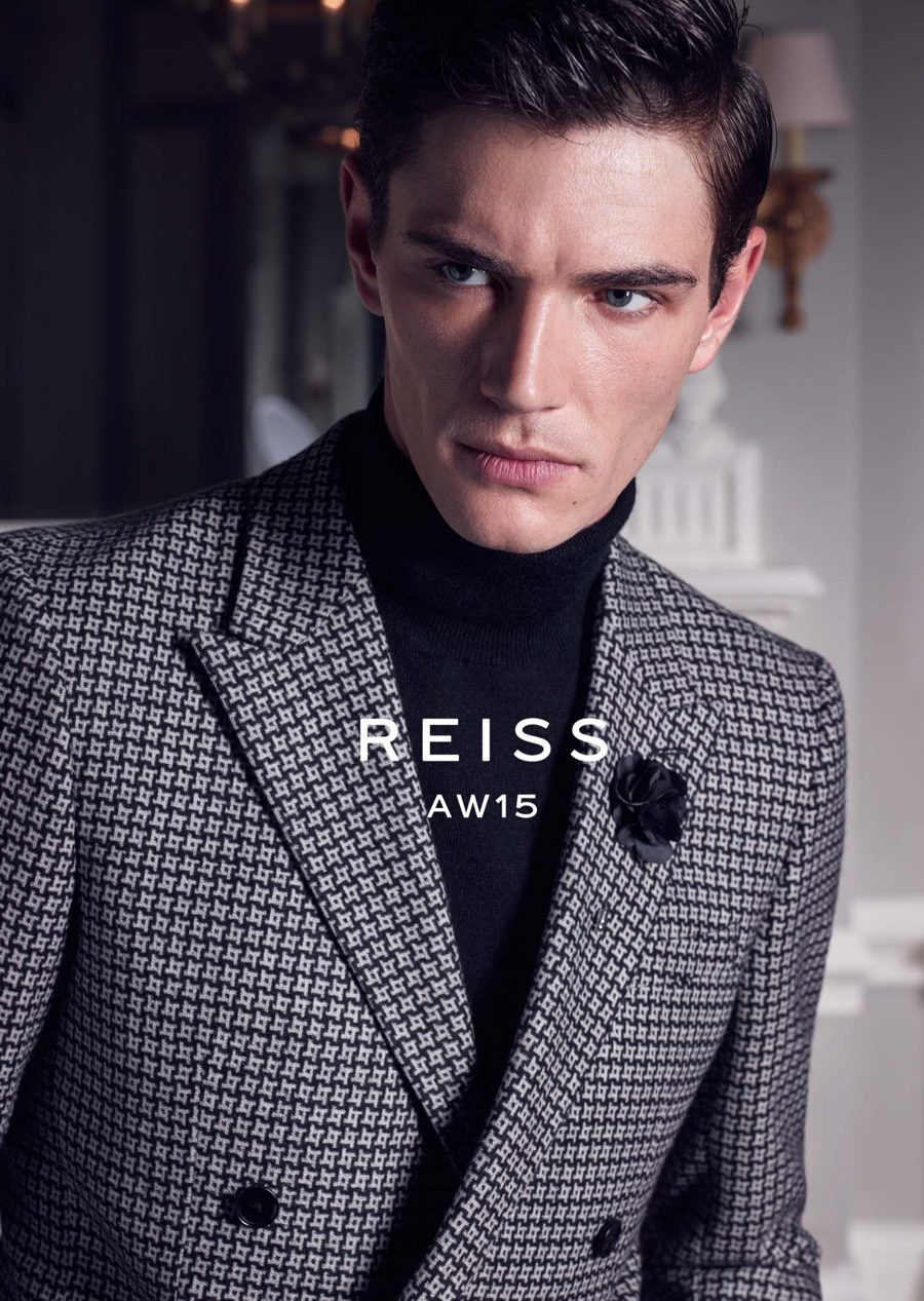 Reiss Features Smart Styles for Fall/Winter 2015 Campaign