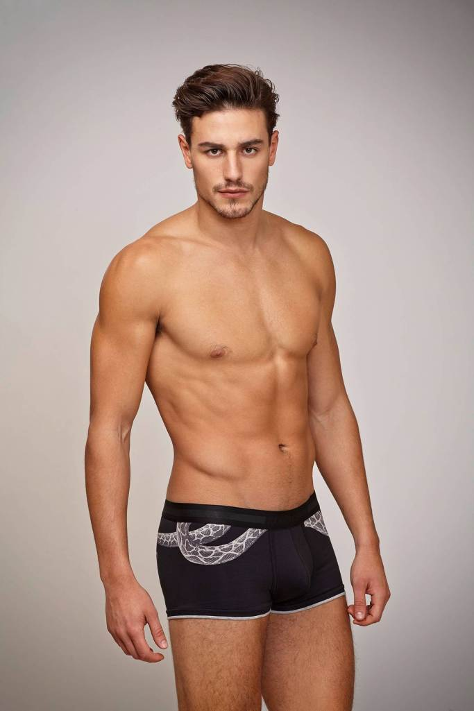 Mariano Ontañon Models Roberto Cavalli's Fall/Winter 2015 ...