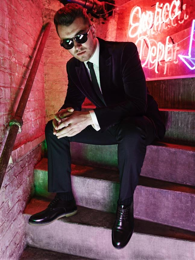 Sam Smith is Ultra Cool Vision for British GQ Shoot