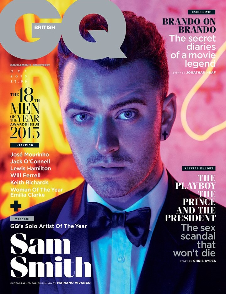 2015 GQ Men of the Year Awards: Sam Smith, David Gandy + More