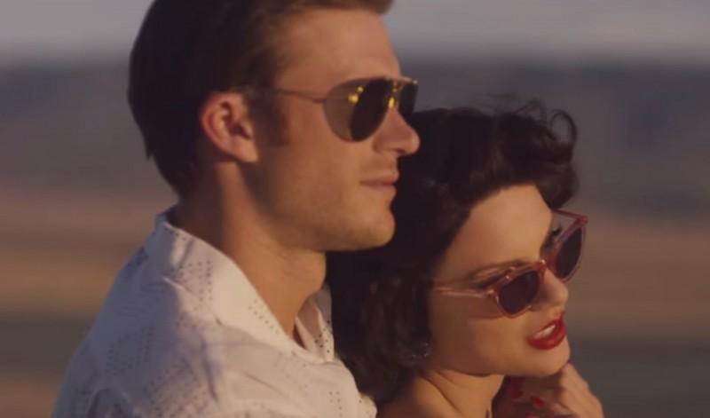 Scott Eastwood rocks essential aviator sunglasses.