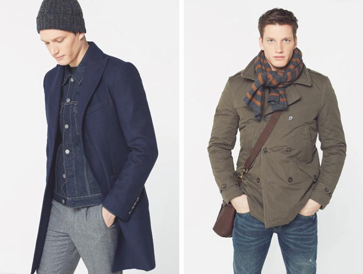 Florian Van Bael Models Mango Fall/Winter 2015 Menswear