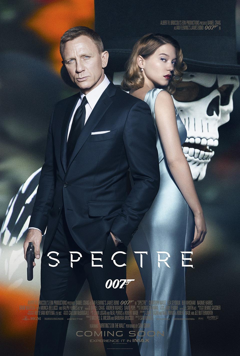 Daniel Craig Joins Lea Seydoux for New 'Spectre' Poster Artwork