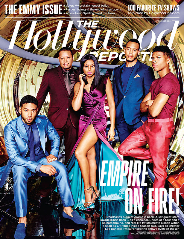 The cast of Empire cover The Hollywood Reporter.