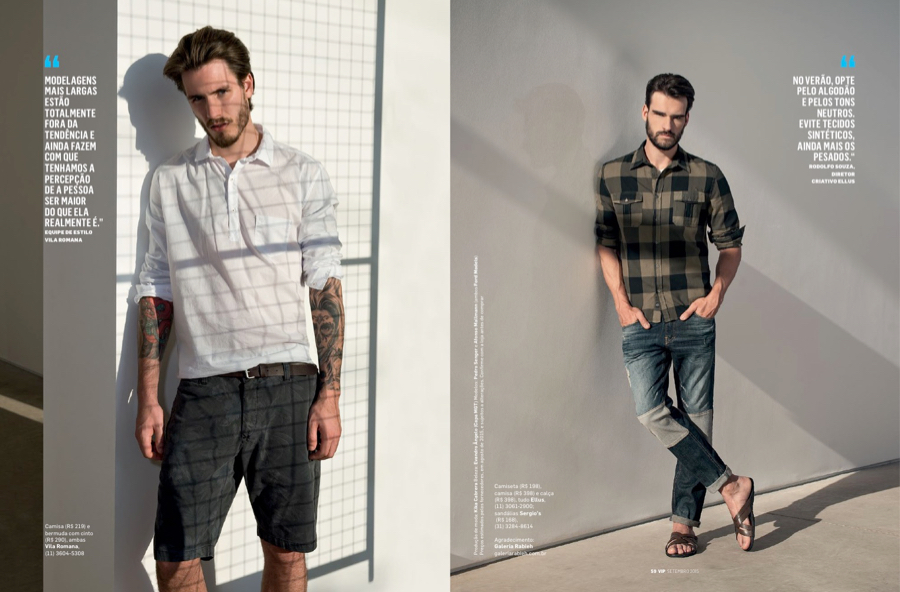 VIP Brazil Highlights National Fashions for September 2015 Issue