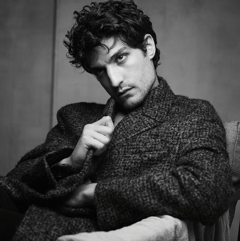 Louis Garrel, Vincent Cassel + More Pose for Vogue Hommes Paris 1069f58635b2