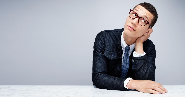 Abiah Hostvedt + Miles Garber Don Eyewear for Warby Parker