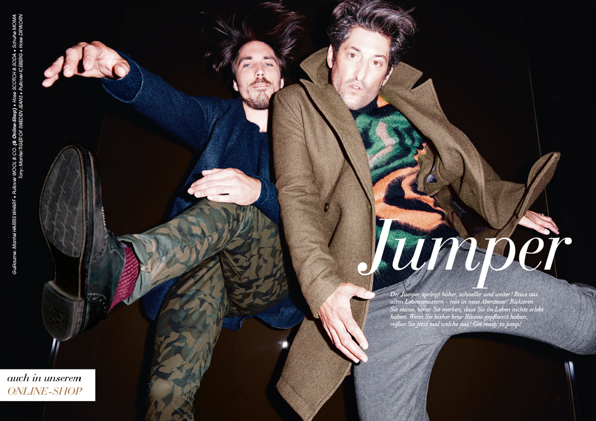 Tony Ward + Guillaume Mace Front Wormland Fall/Winter 2015 Campaign