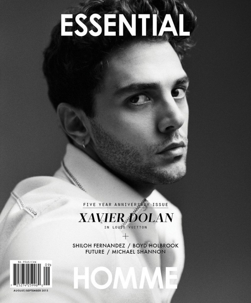 Xavier Dolan covers Essential Homme