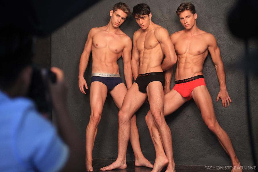Behind the Scenes: Parke & Ronen Shoot New Underwear Line