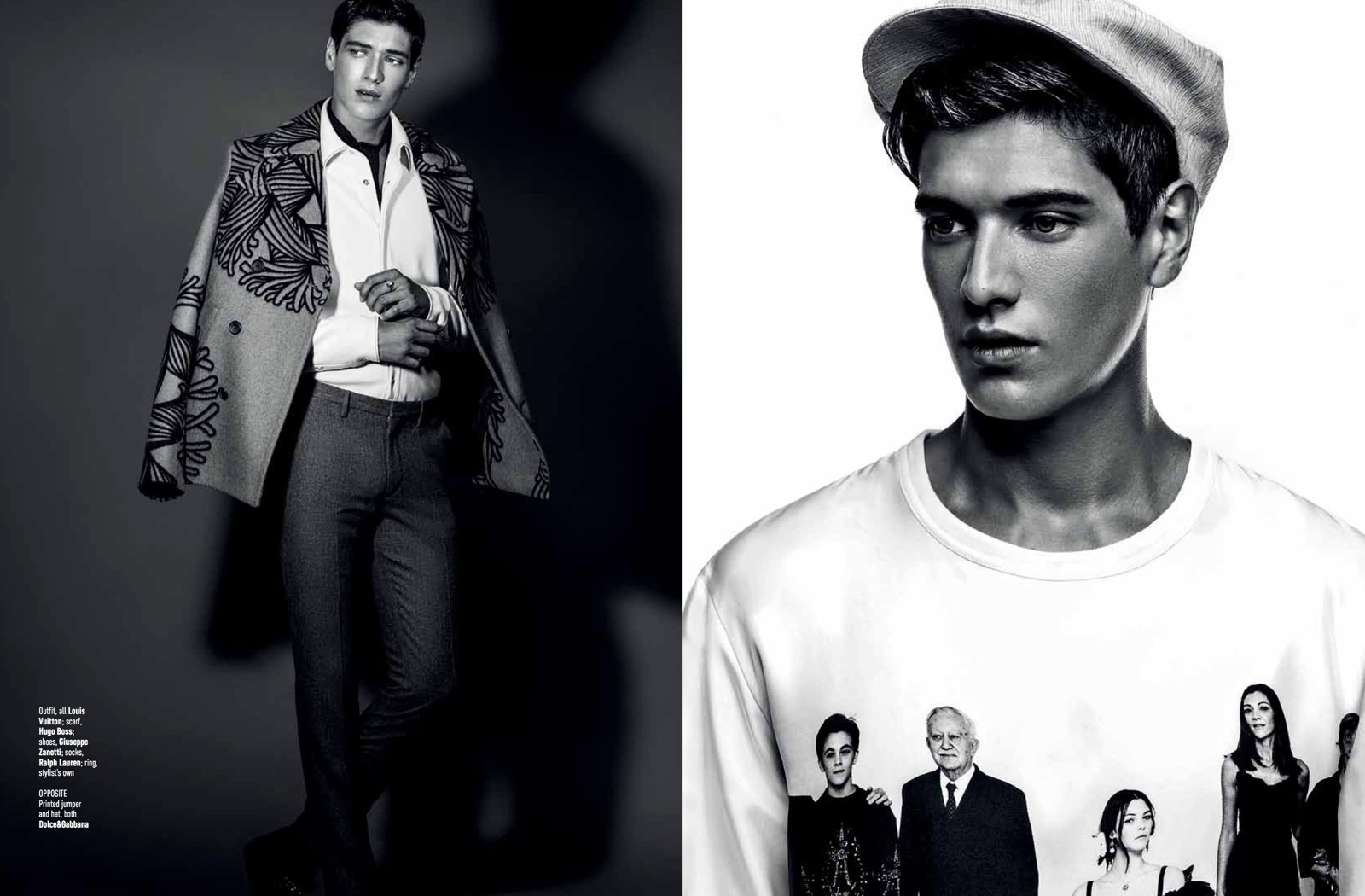 1950s Men's Fashions Inspire August Man Editorial | The ...