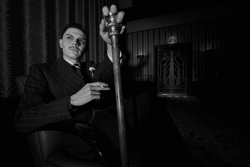 Evan Peters as Mr. March in American Horror Story: Hotel