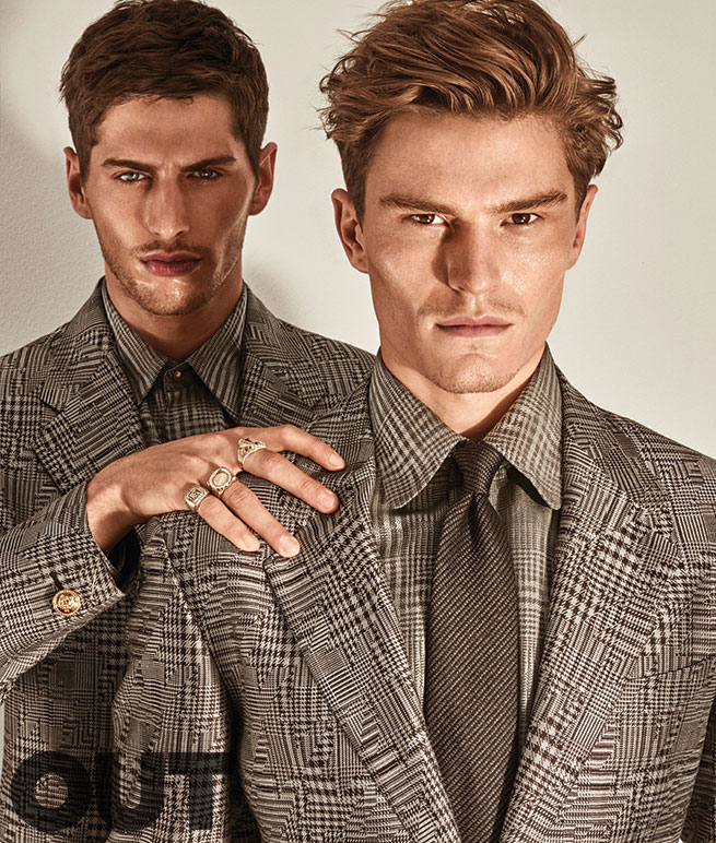 Allen Taylor and Oliver Cheshire for Out magazine