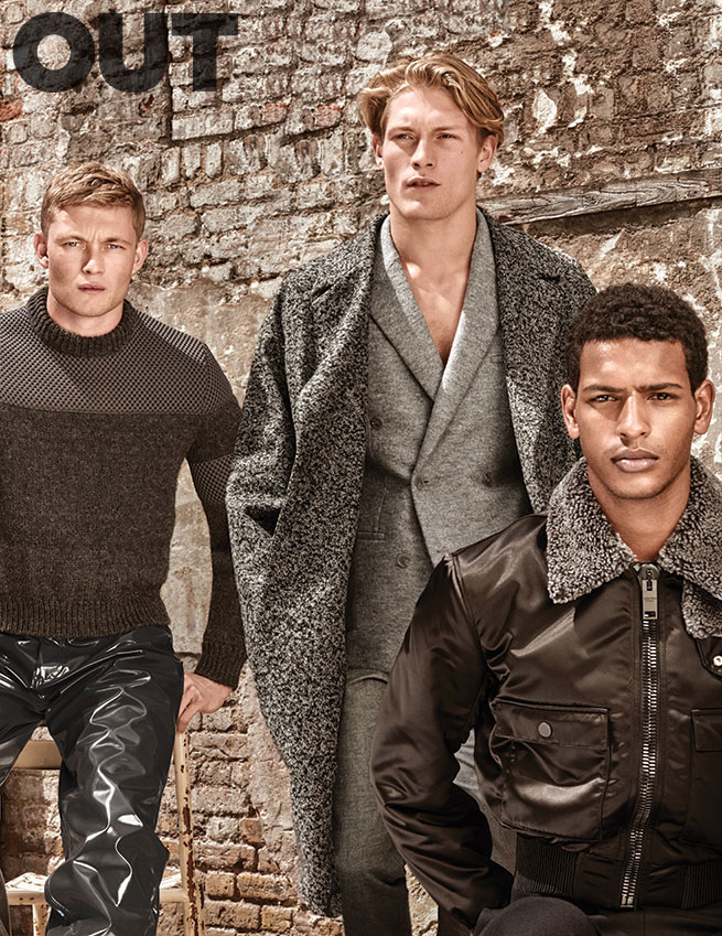 Oliver Smiles, Harry Goodwins and Tidiou M'Baye for Out magazine