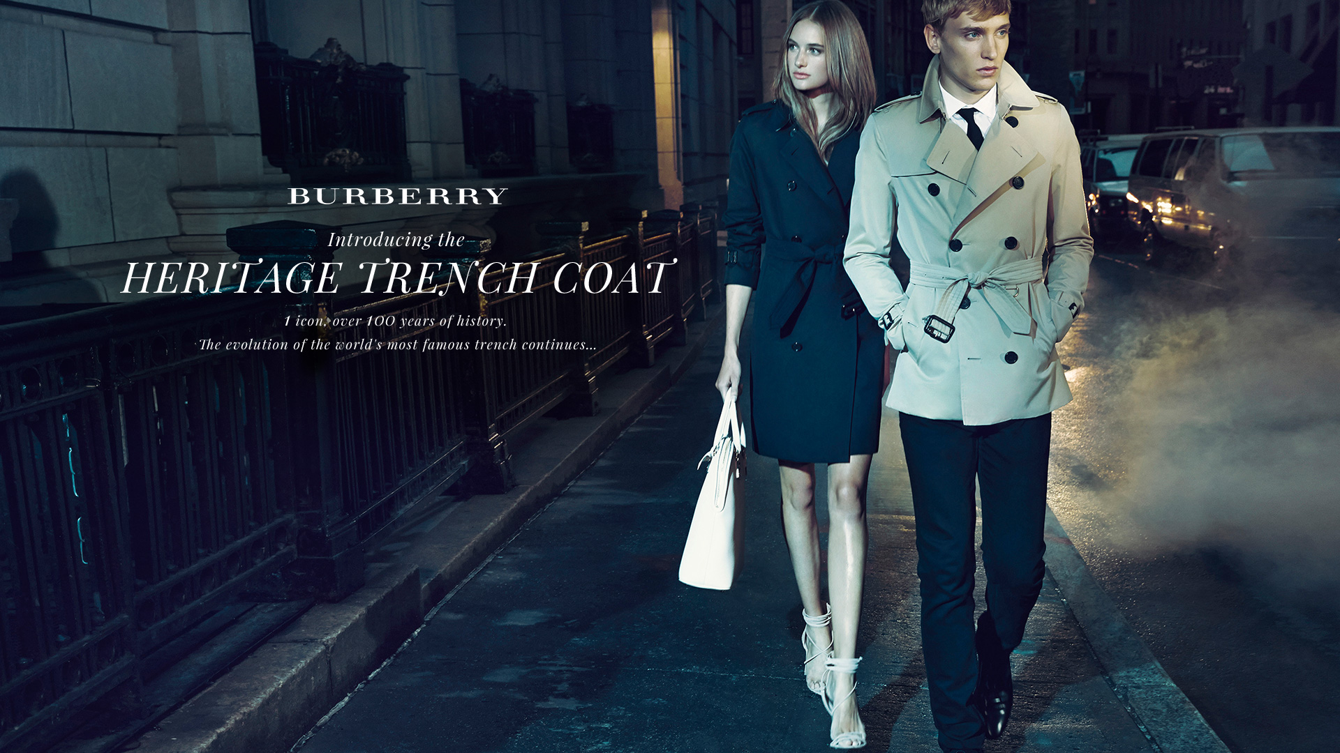 Burberry Men's Heritage Trench Coat at Saks Fifth Avenue