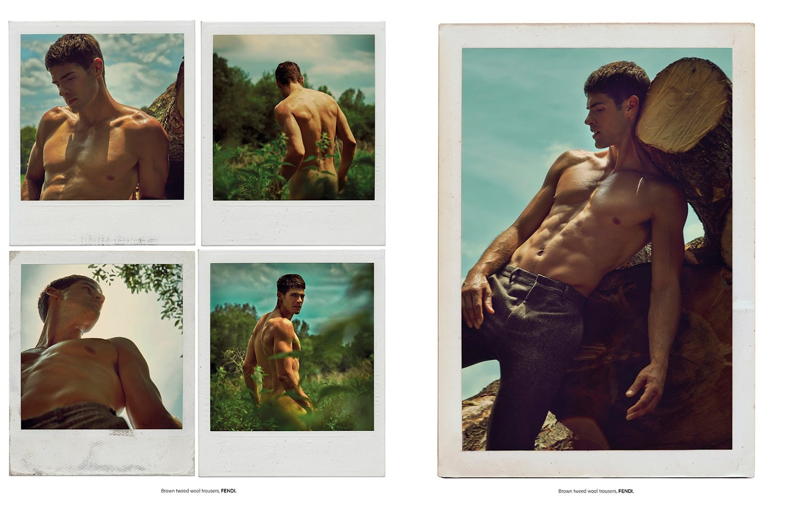 Chad White is a 'Horseman' for L'Officiel Hommes Singapore