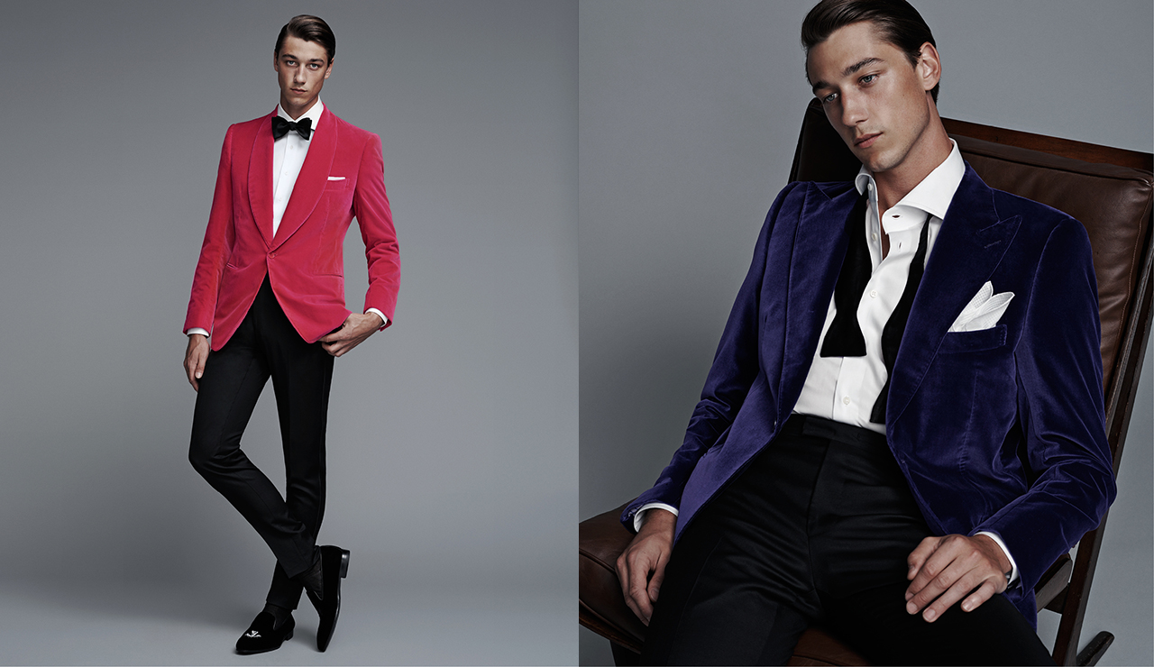 Cifonelli Suits Shine in New Barneys Shoot