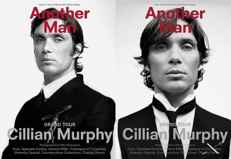Cillian Murphy covers Another Man