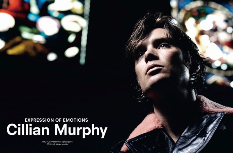 Cillian Murphy photographed by Willy Vanderperre for Another Man