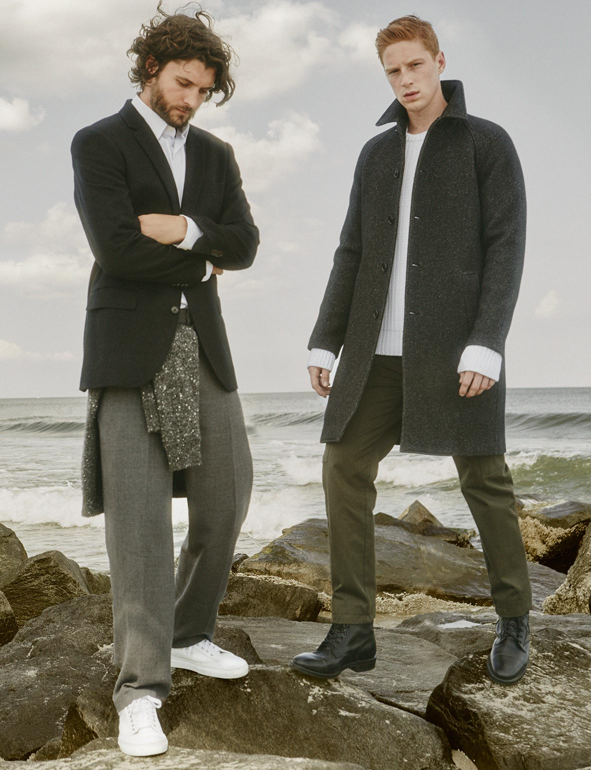 Club Monaco Heads to the Shore with Chic Fall Fashions