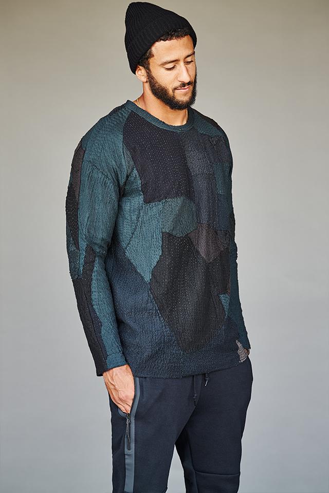 Colin Kaepernick Poses for Mr Porter, Talks Style