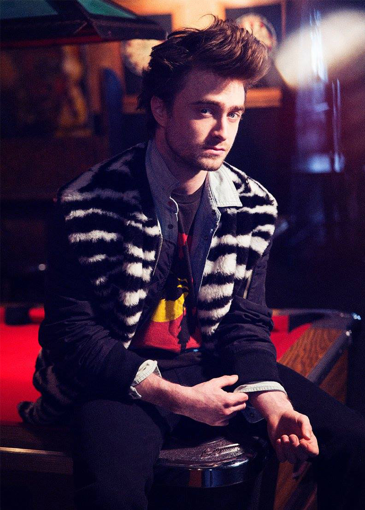 Daniel Radcliffe Connects with Nylon, Talks Long Hair in 'Victor Frankenstein'