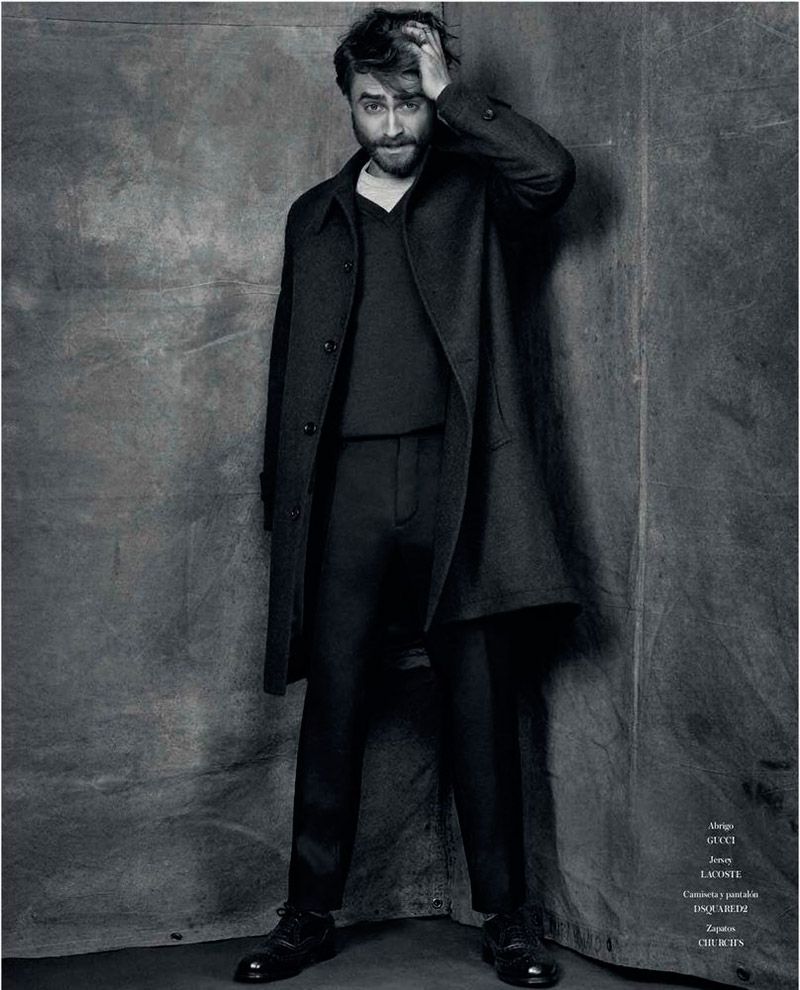 Daniel Radcliffe Poses for Icon El Pais