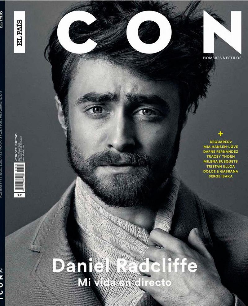 Daniel Radcliffe covers Icon El Pais.