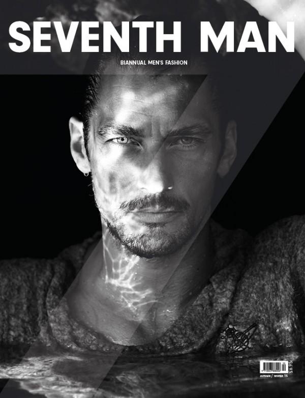 David Gandy Covers Fall/Winter 2015 Seventh Man