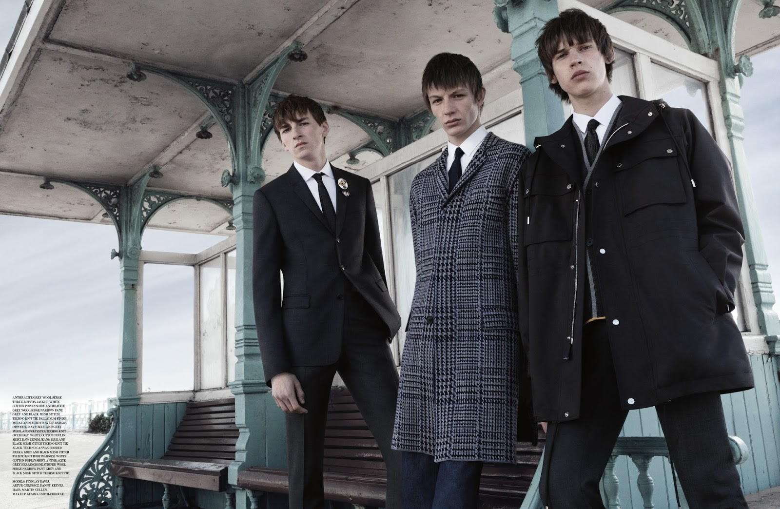 Dior Homme Goes Mod For Urban Tribe Shoot