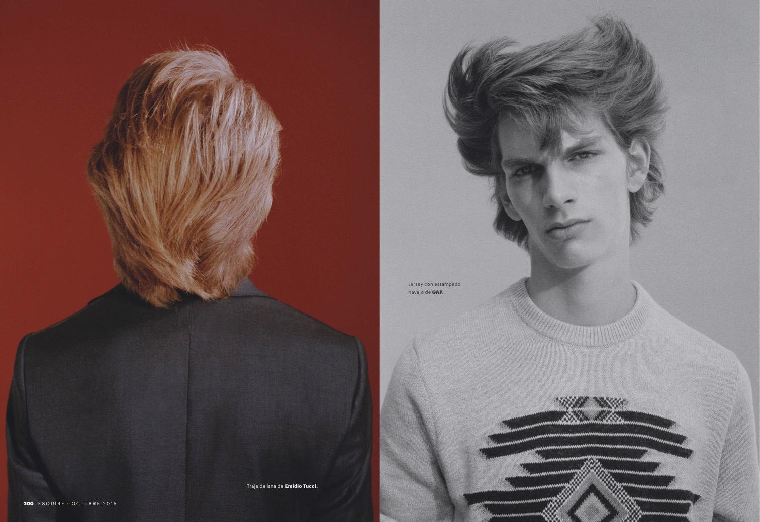 Erik Van Gils Rocks Rebellious Men S Hairstyles For