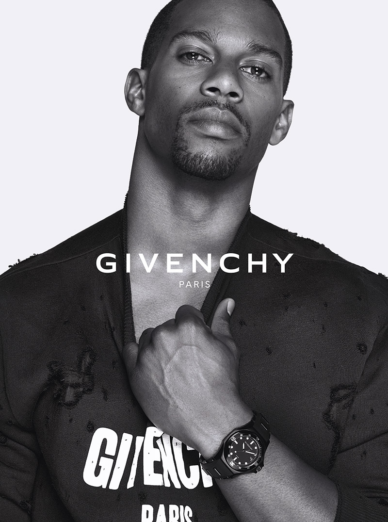 Givenchy Unveils 'Shark' Watch Campaign with Victor Cruz