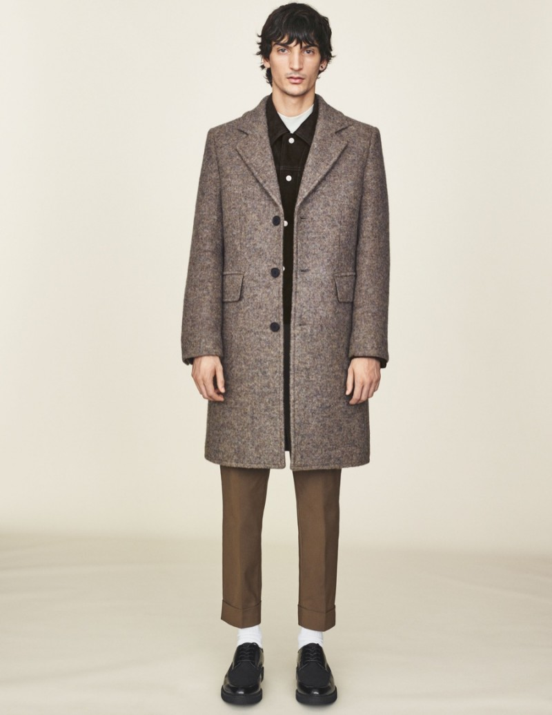 H&M Men 2015 Winter Collection Look Book
