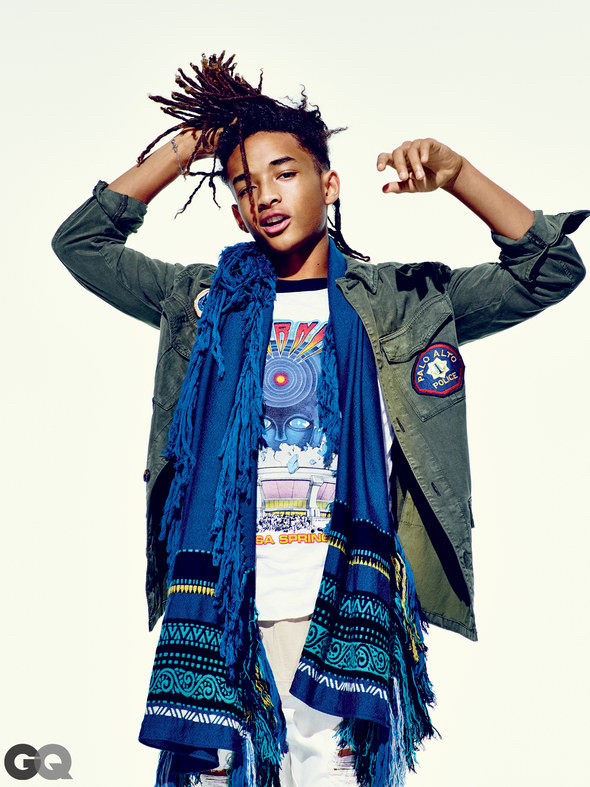 Jaden Smith Poses for November 2015 GQ Style Photo Shoot