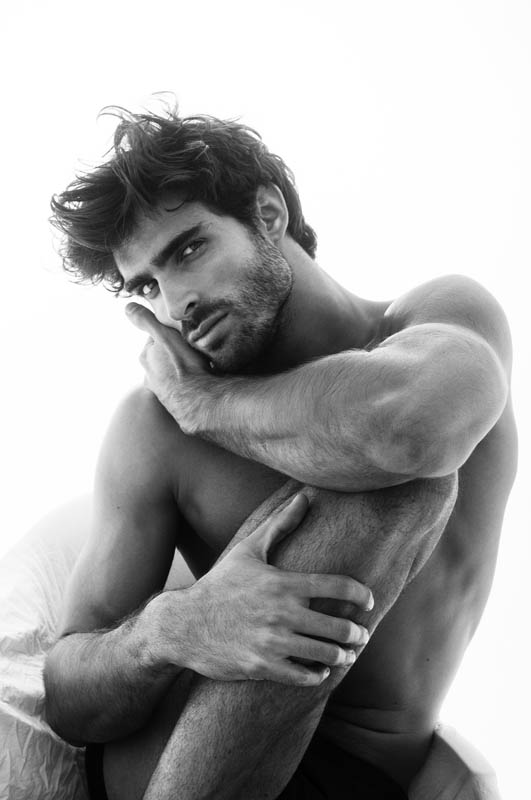 Juan Betancourt Poses For Pictures By Charl Marais