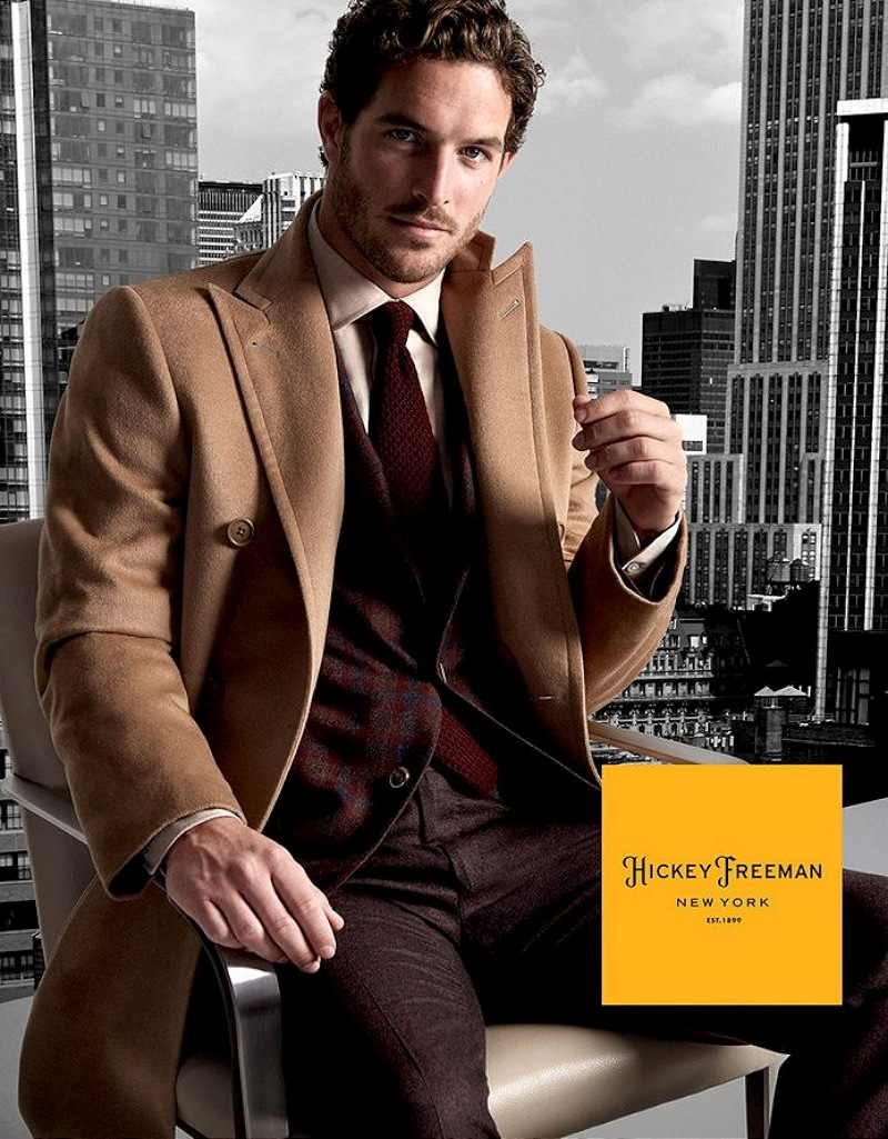 Justice Joslin Suits Up for Hickey Freeman