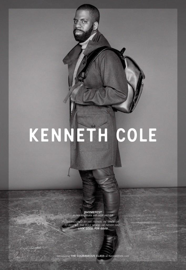 Rhymefest for Kenneth Cole Fall/Winter 2015 Campaign
