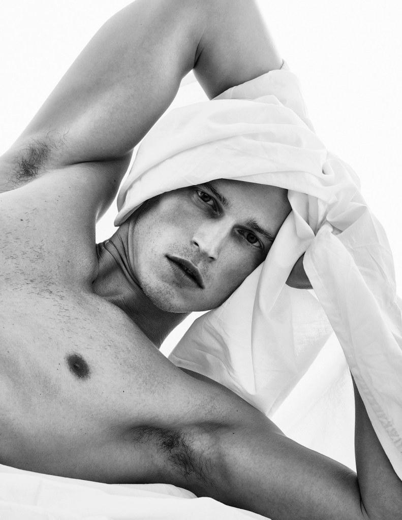 Lars Burmeister Stars in Black & White DSection Shoot