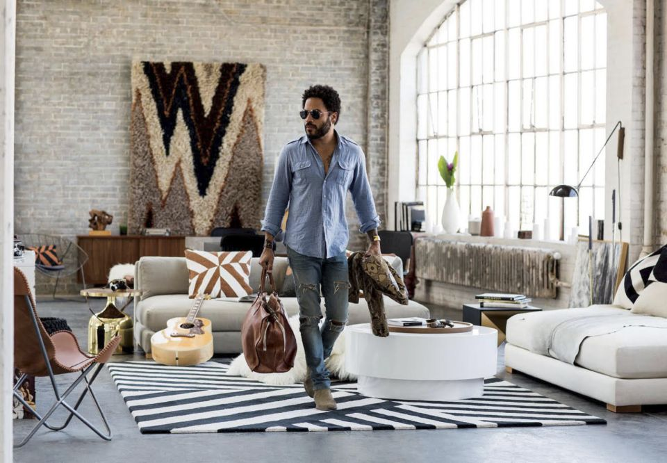 Lenny Kravitz Designs Furnishings Collection for CB2