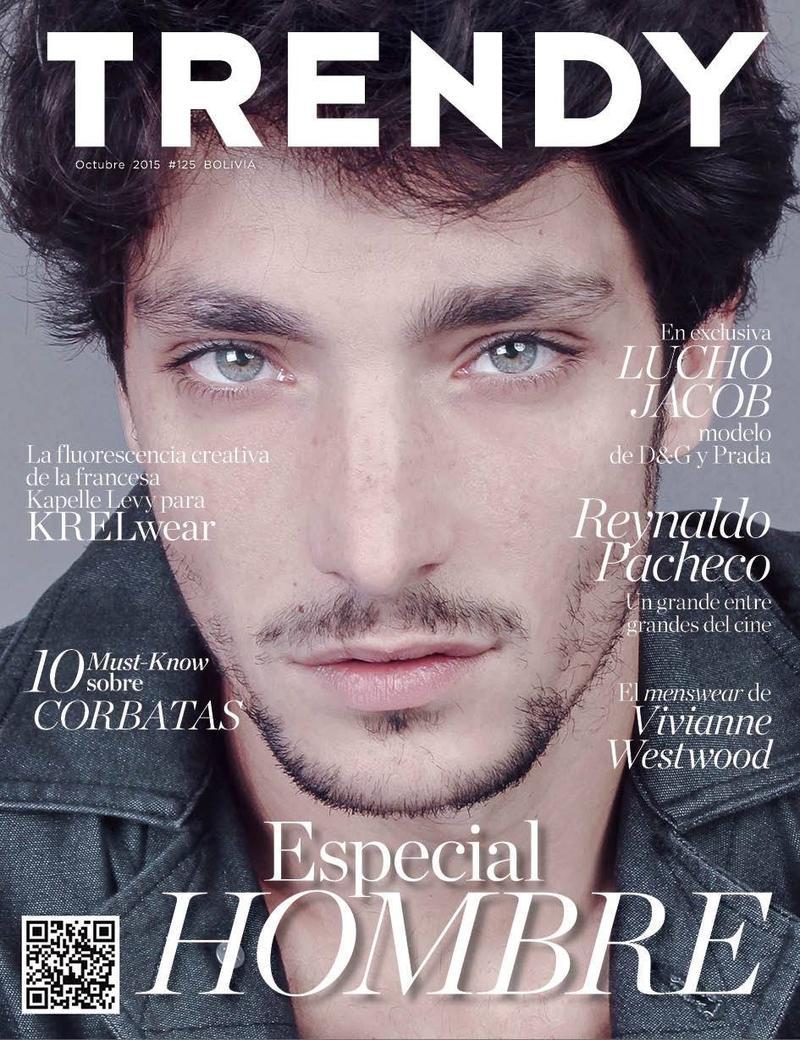 Lucho Jacob Covers Trendy Magazine