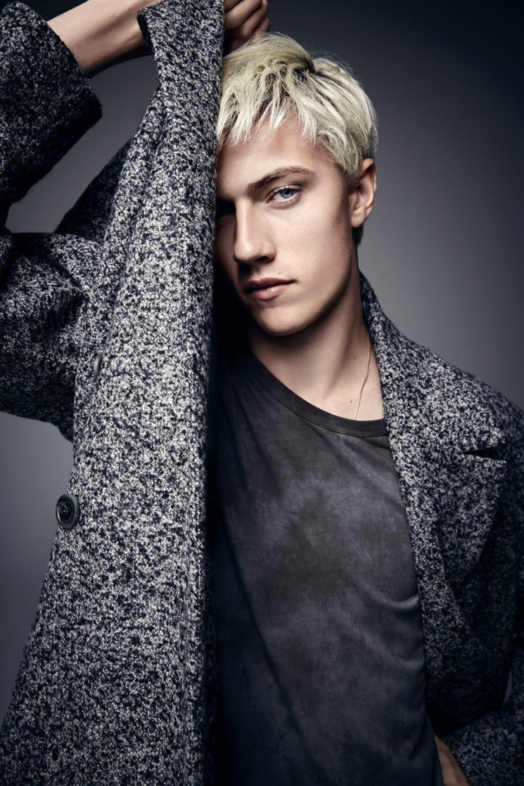 Lucky Blue Smith Gets Serious For Icon Shoot The Fashionisto